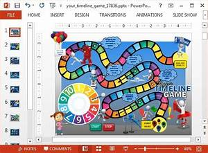 animated timeline game powerpoint template powerpoint With free powerpoint game templates for teachers