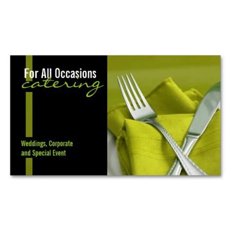 catering visiting card templates 183 best images about restaurant business cards on