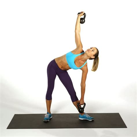 windmill kettlebell abs popsugar exercises ab crunches tone workout toning workouts fitness exercise standing without moves required none lower them