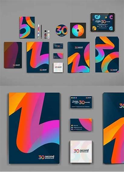 Vibrant Designs Graphic Branding Creative Brand Gradient