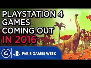 Games Week 2016 : ps4 games coming in 2016 paris games week 2015 sony post show highlight youtube ~ Medecine-chirurgie-esthetiques.com Avis de Voitures