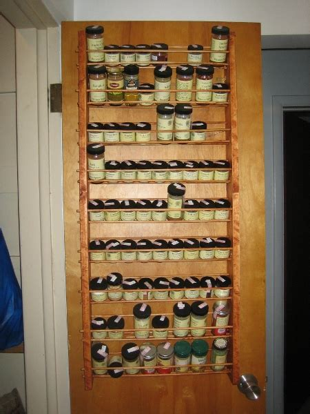 The Door Spice Rack by A Miscellany Spice Rack