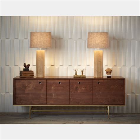 diabox credenza silver legs guild nines touch of modern