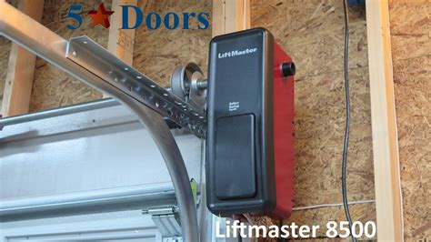 powerlift garage door opener fimbel liftmaster 8500 residential shaft garage door opener
