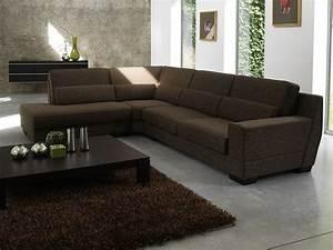 Canapé D Angle Assise Profonde : canape d 39 angle wenge ~ Melissatoandfro.com Idées de Décoration