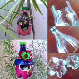 Diy Pet Flaschen Diy Kr Uterampel Aus Alten Pet Flaschen Youtube
