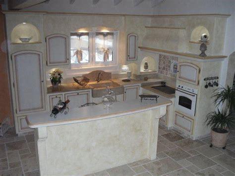 cuisines provencales modernes cuisine provençale plan de travail ilot central