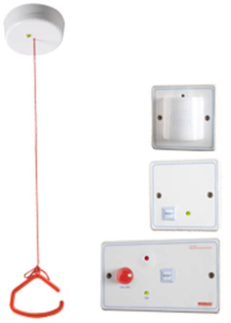 toilet alarm kit ip20 white led robus