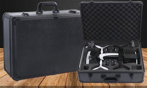 hardshell aluminum case handbag box  parrot bebop  power fpv vr goggles camera drones rc
