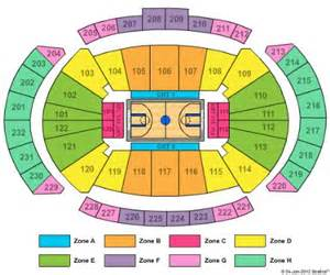 Sprint Center Seating Charts
