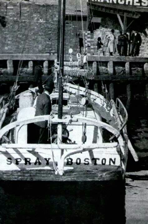 Joshua Slocum Boat by Joshua Slocum To Sail Around The World Alone