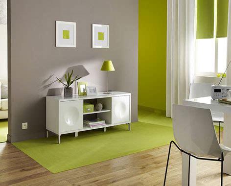chambre taupe et vert aménagement déco chambre vert et taupe