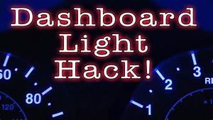 Peterbilt Fiber Optic Dash Lights