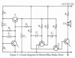 Motor Bike Brake Horn