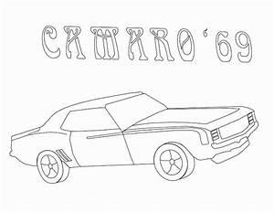 1969 Camaro Drawing At Getdrawings Com