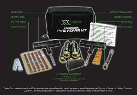X-tech Emergency Motorcycle Car Tyre Puncture Repair Kit