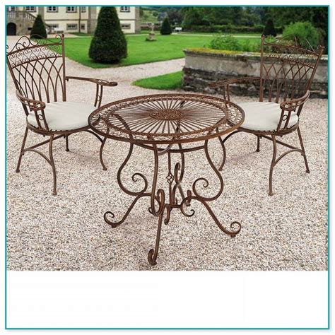 gartentisch mit stühlen gartenm 246 bel metall antik