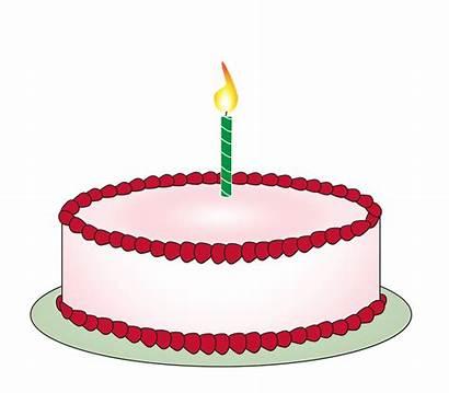 Cake Birthday Clipart Clip Kerzen Mit Pixabay