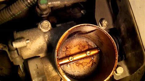 oil leaking  throttle body  air tube  chevy