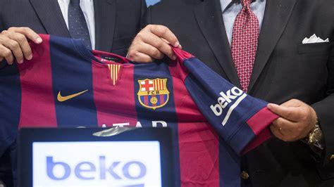 fc barcelona add beko shirt sleeve sponsor  reasons
