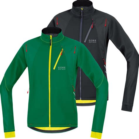 mtb softshell jacket wiggle gore bike wear fusion cosmo windstopper softshell