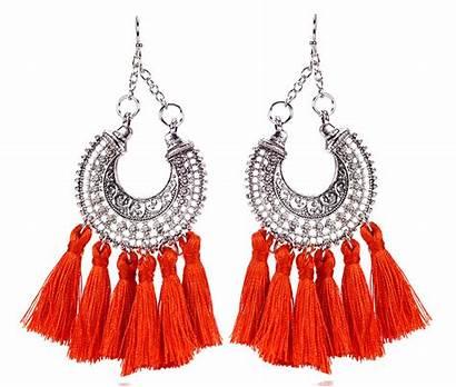 Thread Silk Jewelry Shopping Earring Tassel Dangle