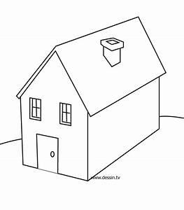 coloriage maison With dessin de maison facile