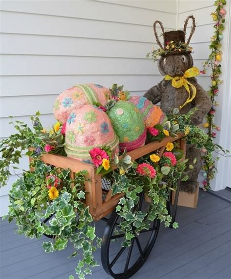 Front Porch Decorating Ideas Easter