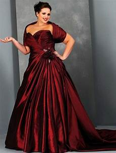 red plus size wedding dresses pluslookeu collection With red wedding dresses plus size