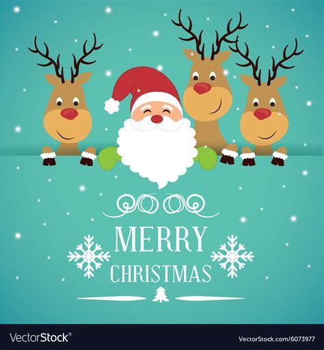 merry christmas card design royalty  vector image