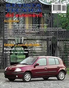 Manual De Taller Renault Clio Ii 1 5 Dci Desde 06  2001