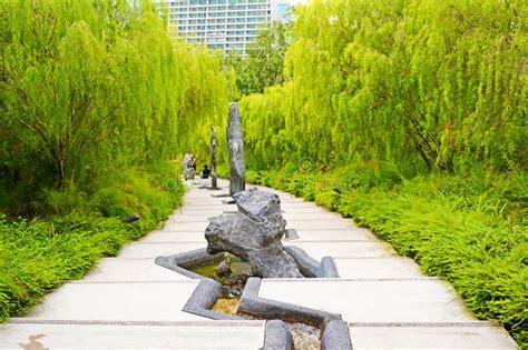 Japanischer Garten Singapur by Sch 246 Ner Japanischer Garten Im Garten Durch Die Bucht