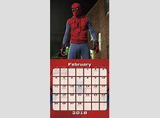 Nuove immagini da SpiderMan Homecoming nel calendario