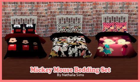 Mickey Bedding Set at Nathalia Sims » Sims 4 Updates