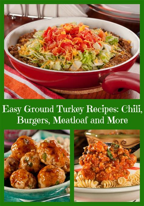 Cook until turkey is no longer pink and vegetables are tender, stirring occasionally to break up turkey. 15 Easy Ground Turkey Recipes: Chili, Burgers, Meatloaf and More | Ground turkey recipes, Turkey ...