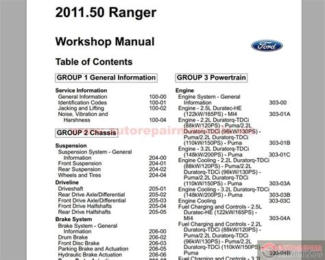 keygen autorepairmanualsws ford ranger