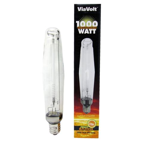 1000 Watt Hps Bulb Home Depot by Viavolt 1000 Watt High Pressure Sodium Replacement Hid