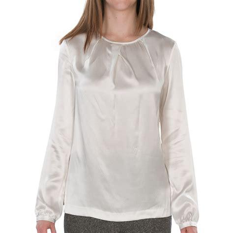 sleeve blouses for charmeuse blouse sleeve black blouse