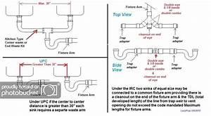 Bathroom Double Sink Plumbing Diagram