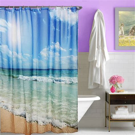 Various Shower Curtain Waterproof Polyester Fabric