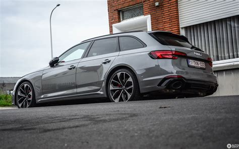 Audi Rs 4 2017 by Audi Rs4 Avant B9 5 December 2017 Autogespot