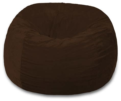 shop houzz chill sack memory foam bean bag chair 4 ft