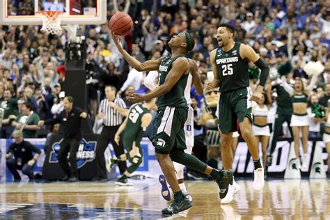 michigan state basketball   spartans reached