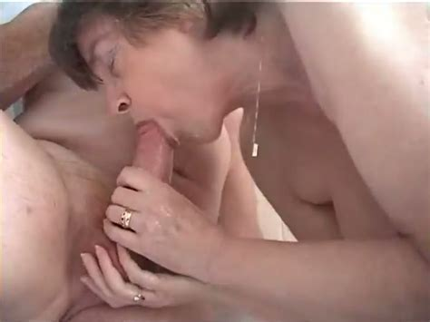 Mature Couple Take A Shower Together And Have Oral Sex In