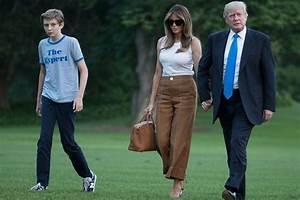 Melania & Barron Trump Finally Move Into the White House