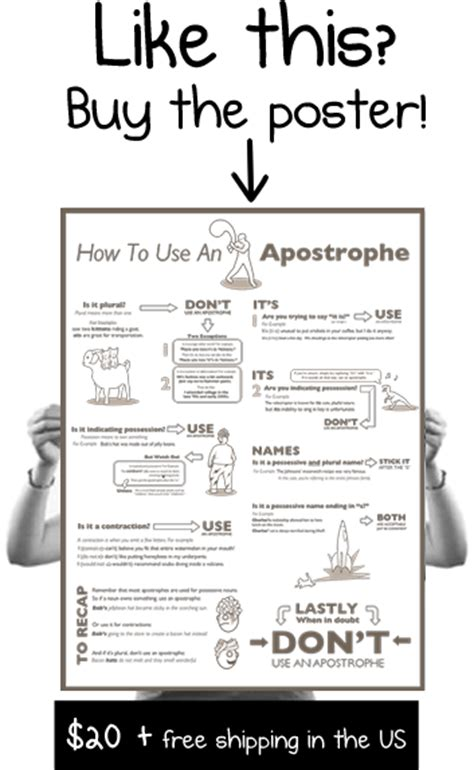 How To Use An Apostrophe  The Oatmeal