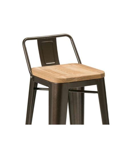 chaise de bar metal table basse sur roulettes en métal et bois style