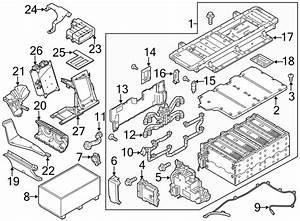 Porsche Panamera Wiring Harness Power Distributor Battery