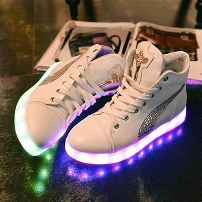 Shoes Kawaii Led Luminous Japan Korea Boot