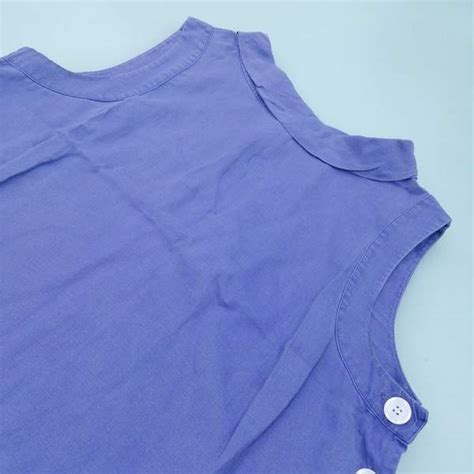 hobbs womens sleeveless top  colour purple thrift